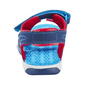 Timberland Adventure Seeker Sandals Junior 2-Strap Navy/Blue/Red